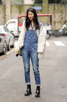 Street style back to school // I love me some overalls!!