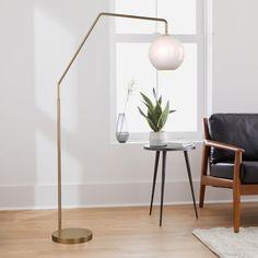 """8"""" Outdoor Floor Lamps, Led Floor Lamp, West Elm Floor Lamp, Large Floor Lamp, Floor Lamp With Shelves, Glass Floor Lamp, Floor Lamp Shades, Large Lamps, Contemporary Floor Lamps"""