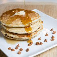 Zimtschnecken Pfannkuchen - Pancakes - - Make Good Things, French Toast Waffles, Cinnamon Roll Pancakes, Pancakes And Waffles, Cinnamon Rolls, Breakfast For Dinner, Breakfast Recipes, Breakfast Ideas, Pancake Recipes, Waffle Recipes