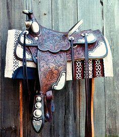 Ricotti western saddle (California company)