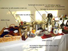 Hot Cocktail Bar | Big Red Kitchen - a regular gathering of distinguished guests