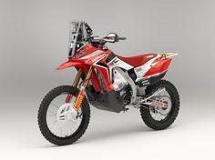 honda-crf450-rally paris dakar