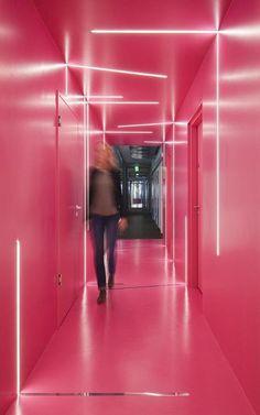 Gang Google Office Lepel Architektur