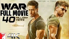 The first trailer of Hrithik Roshan and Tiger Shroff starrer,War, is here. On expected lines, War trailer is bristling with action sequences and good-looking men going after one another.- Know Latest Movie News at Moviekoop - Watch Bollywood Movies Online, Movies To Watch Online, 4k Uhd, Hrithik Roshan, Indiana, New Hindi Movie, Hd Movies, Movies Free, Films