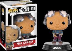 Funko POP! STAR WARS Maz Kanata No Glasses #118 Vinyl Figure Bobble Head