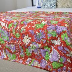 Kantha Throw/ Bedspread