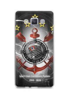 Capa Capinha Samsung A7 2015 Time Corinthians #5 - SmartCases - Acessórios para celulares e tablets :)