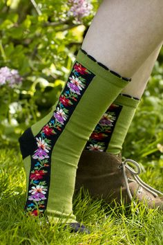 Nordic Stripe Crew Socks - Sock Dreams