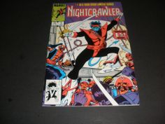 NIGHTCRAWLER LIMITED SERIES #1 OF 4 (MARVEL) BUY IT NOW FOR $3.50!!!!!