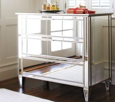 Park Mirrored Dresser #potterybarn