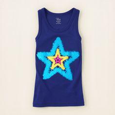Stars Tank   Americana Collection   The Children's Place   #starsandstripes #kidsclothing