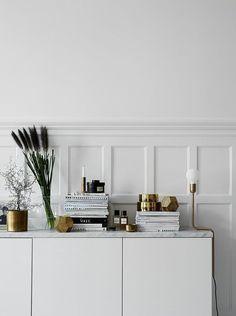 Crispy white and brass | COCO LAPINE DESIGN | Bloglovin'
