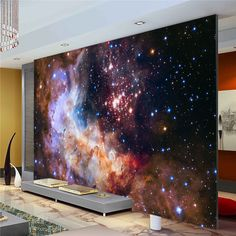 Popular Galaxy Wallpaper for Kids Bedroom-Buy Cheap Galaxy ...