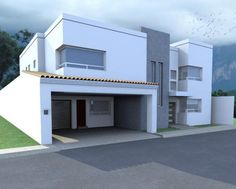 fachada de casas en esquina - Buscar con Google
