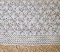 Marianna's Lazy Daisy Days: 'Milk and Sugar' Baby Blanket - sitricken decken Easy Knit Baby Blanket, Knitted Baby Blankets, Baby Boy Blankets, Baby Boy Knitting Patterns Free, Baby Patterns, Crochet Patterns, Animal Patterns, Blanket Patterns, Knitting Ideas