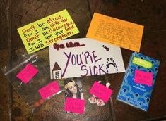 Open when you're sick letter. Bible verse- Don't be afraid, for I am with you. - Open when you're sick letter. Bible verse- Don't be afraid, for I am with you. Inside Open When Letters, Open When Letters For Boyfriend, Ldr Gifts For Him, Bf Gifts, Noel Gifts, Cute Boyfriend Gifts, Birthday Gifts For Boyfriend, Boyfriend Ideas, College Boyfriend
