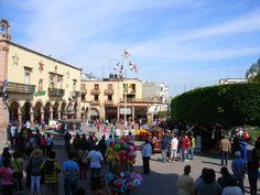 La Piedad, Mich. México, Voladores de Papantla, Ver.