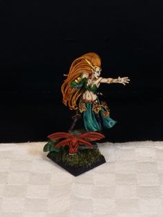 Warhammer Wood elves spellcaster, modified Miniature painted by me! Sirio ;)