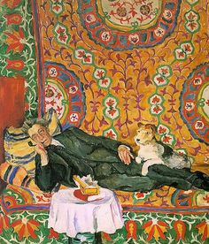 Portrait of Vsevolod Meyerhold, 1938 (with his wire fox terrier)--just love this painting ! Art Inspo, Kunst Inspo, Art And Illustration, Socialist Realism, Russian Art, Russian Style, Art Abstrait, Henri Matisse, Art Design