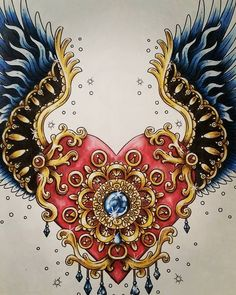#hannakarlzon #magicaldawn #magiskgryning #coloringbook #fabercastell