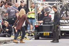 Tom Cruise and Annabelle Wallis Are Spotted Filming The Mummy Picture