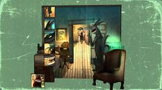 """Frantz Kantor adds some visual depth to an age-old fairytale in """"Little Red Hood""""."""