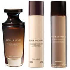 Yves Rocher Vanille Noire 3-piece Gift Set for Women: Vanille Noire Eau de Perfume, 50 ml/ Perfumed Body Lotion, 200 ml& Body Shower, 200 ml. VERY HARD TO FIND. by Yves Rocher. $135.00. Yves Rocher Vanille Noire Eau de Toilette, 75 ml is pre-ordered fragrance, imported directly from France and it is not available in USA.. Yves Rocher Vanille Noire Eau de Toilette, 75 ml 3-piece Fragrance Set. New Origiinal Yves Rocher Vanille Noire 3-piece Gift Set for Women: Vanille...