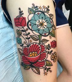 the blue flower is my favorite and like the small ones worked in would like those wrapped around the under side of my bicep