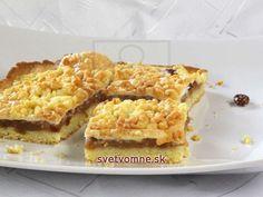 Grófkin koláč • Recept   svetvomne.sk Apple Pie, Tea Time, Macaroni And Cheese, Waffles, French Toast, Cheesecake, Cookies, Baking, Breakfast