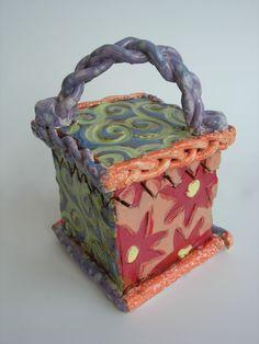 Slab-built Boxes   East Chapel Hill High Ceramics