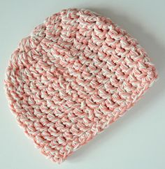 Basic baby crochet hat. Crochet Baby Hats, Knit Crochet, Knitting, Fashion, Moda, Tricot, Fashion Styles, Breien, Ganchillo