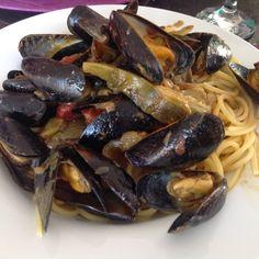 A B C vos IG: Spaghettis aux moules et artichauts (IG bas)