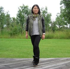 Wearing army with Isabel Marant Bazil