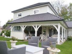 Maison bois a vendre Maison style américain 76 Normandie Cote Albatre Pays de Caux Saint Valery en Caux 4170 - j'adore ce style de maison <3 <3 <3