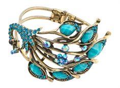 Peacock Bracelet DF5046 @Kate McComb