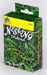 Prevue Pet Products, Inc - #103 Nesting Material BoxThis box contains natural cotton thread fibers which are great for nestbuilding  The box...