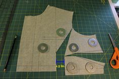 FBA for a one dart bodice