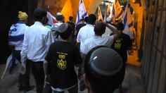 "Lehava' s gang, ""Jerusalem day"", 17.5.2015"