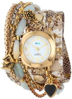 La Mer Collection's Women's LMMULTI1010 Algonquin Charms Wrap Watch, http://www.amazon.com/dp/B00EE3MVO2/ref=cm_sw_r_pi_awdm_YTauvb0M769Z7