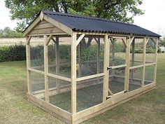 LARGE WALK IN CHICKEN RUN - BIRD AVIARY - FLIGHT - ANIMAL ENCLOSURE in Pet Supplies, Birds, Cages | eBay