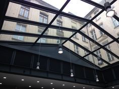 Lots of glass for natural light