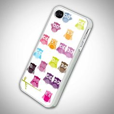 cute owl OC for iPhone 4/4s,5/5s/5c, Samsung Galaxy s3/s4 Case