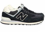 Zwarte New Balance schoenen 574 sneakers