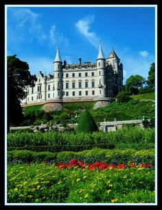 Dunrobin Castle, Scotland.  I've been here.