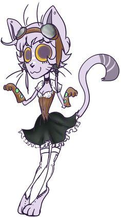 Camia the Steampunk Cat