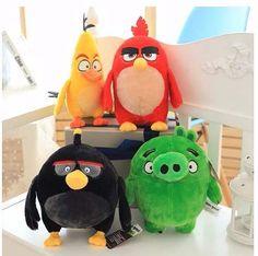 Angry Birds De Pelúcia Kit C/4 #cute #love #toyzz #toyzzbrinquedos #pelucia #desenho #kids #criancas #brinquedos #amei #fofo #angrybirds  https://www.toyzz.com.br