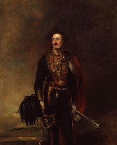 Sir Henry Wyndham, the memories of what he saw at Hougoumont could be brought back by the mere closing of a door.