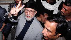 Dr. Qadri with Pervaiz Elahi