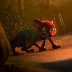 Nick Wilde from Zootopia Disney! Disney Zootropolis, Cute Disney, Disney Frozen, Savage Animals, Zootopia Nick Wilde, Zootopia Movie, Studio Disney, Nick And Judy, Films