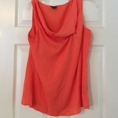 Office ready Worthington blouse#2 Lightweight and flowy in coral. Worthington Tops Blouses